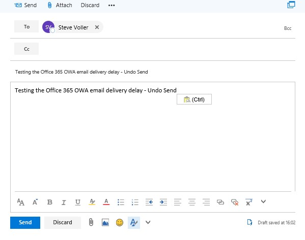 Undo Send e-mail feature added to Office 365 - MDI Networks